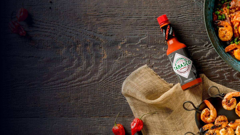 $1 off TABASCO<sup>®</sup> Scorpion Sauce Bottles
