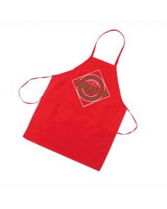Red Canvas Apron