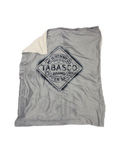 Sherpa Blanket with TABASCO® Diamond Logo
