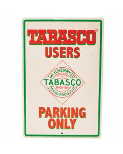 TABASCO<sup>®</sup> Parking Tin Sign