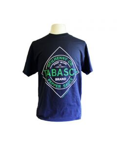 Youth Navy Diamond Logo T-Shirt