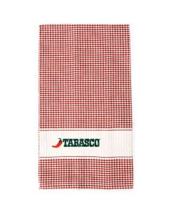 Red Checkered Kitchen Towel