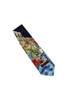 TABASCO® Silk Mardi Gras Gator Parade Tie