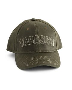 TABASCO<sup>®</sup> Moss Green Embossed Cap