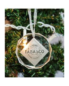 TABASCO® Crystal Ornament