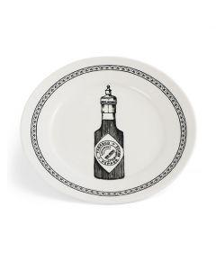 Vintage Bottle Plate