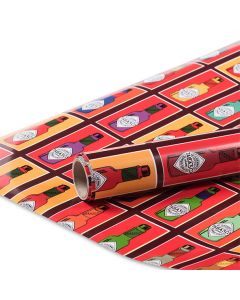 Pop Art TABASCO<sup>®</sup> Bottle Wrapping Paper