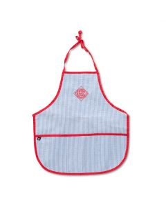 Kids TABASCO® Diamond Logo Chambray Seersucker Art Smock Apron