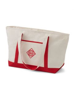 TABASCO® Natural and Red Canvas Tote Bag