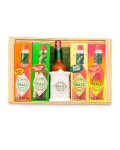 TABASCO® Wooden Gift Crate