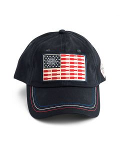 Sauce Bottle American Flag Cap