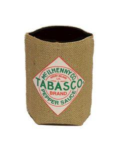 TABASCO® Burlap & Neoprene Can Holder