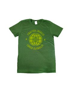 Front Stamp 'Loved Globally' T-Shirt