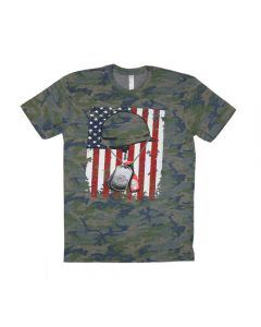 Hot Sauce Dog Tag Camo T-shirt