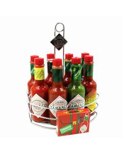 8 SAUCE CADDY WITH MINIS